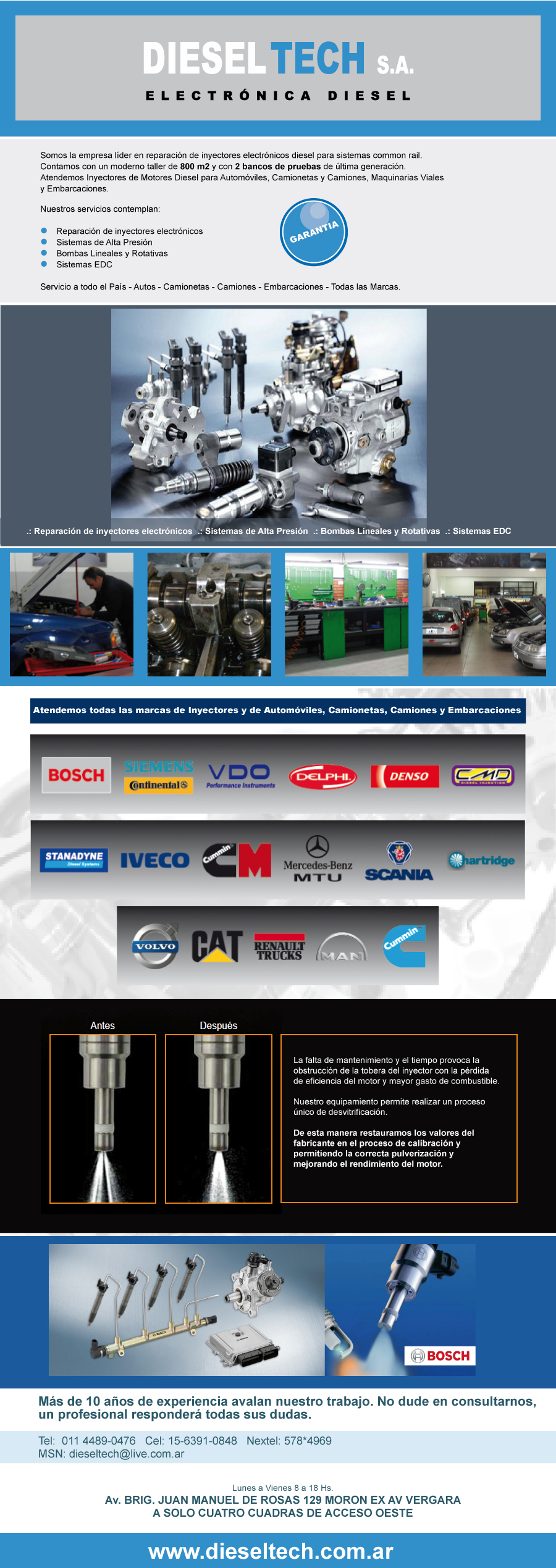 Presentación Dieseltech